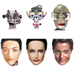"New study of robot faces helps resolve debate over ""Uncanny Valley"""