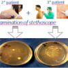 A wearable UV-LED medical device for automatic disinfection of stethoscope membrane