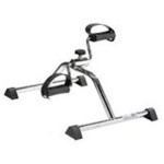 Pedal exerciser: commercially available and can be used at the patient's bedside.