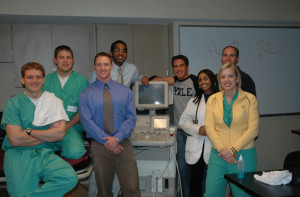 Medical students are eager to learn ultrasound and become facile using these tools.