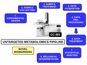 Fig. 1. Untargeted Metabolomics pipeline.