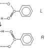Unusual behavior of benzoic acid at low temperature