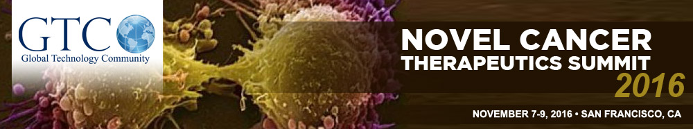 Novel Cancer Therapeutics Summit 2016