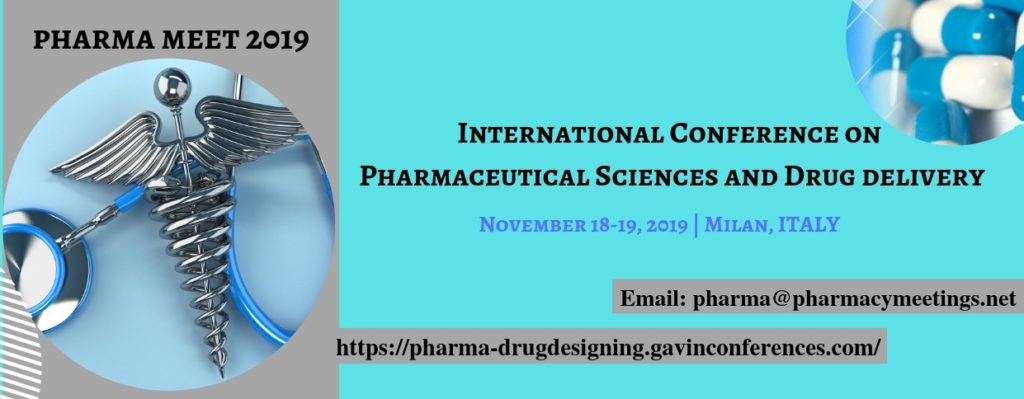 International Conference on Pharmaceutical Sciences and Drug delivery