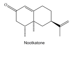 Nootkatone, a biologically active oxygenated sesquiterpene in yellow-cedar heartwood