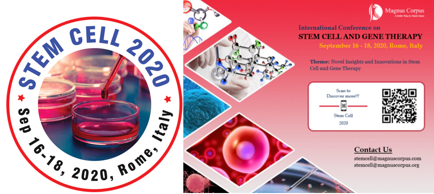 International Conference on Stem Cell & Gene Therapy 2020