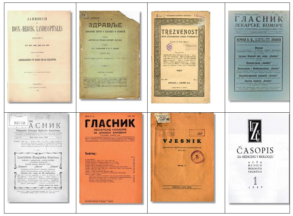 Medical journals in Bosnia and Herzegovina. Atlas of Science