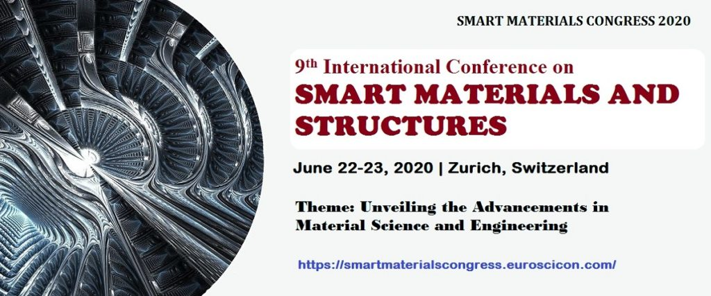 9th International Conference on Smart Materials and Structures. AoS