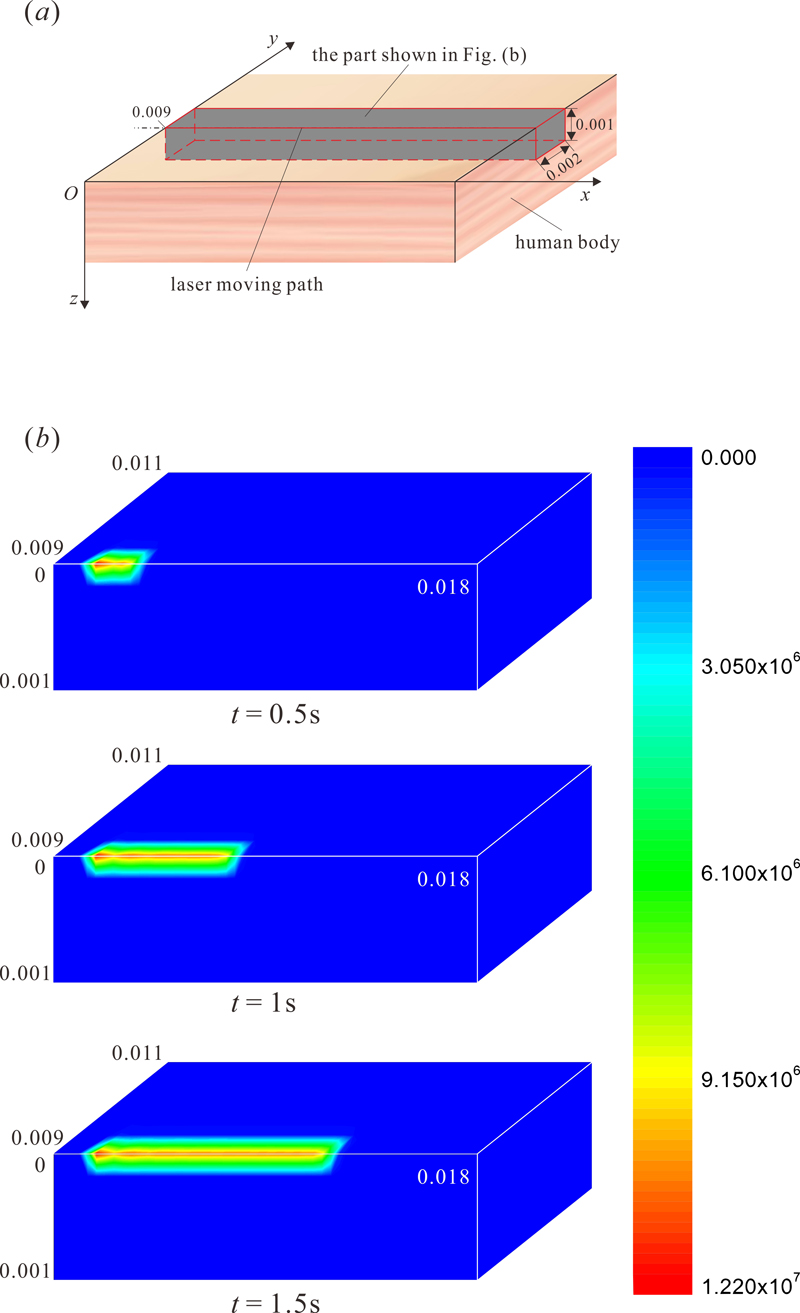 Atlas of Science. Prediction of thermal damage of three-dimensional bio-tissues in moving laser therapy.