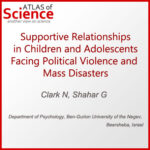 AoS. Supportive Relationships in Children and Adolescents Facing Political Violence and Mass Disasters